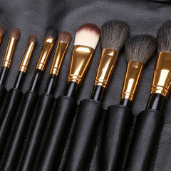 New Fashion 20-Piece Professional Makeup Brush Set Light Pouch Brushes Makeup Tool Set - Oh Yours Fashion - 7