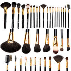 New Fashion 20-Piece Professional Makeup Brush Set Light Pouch Brushes Makeup Tool Set - Oh Yours Fashion - 8