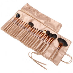 New Fashion 20-Piece Professional Makeup Brush Set Light Pouch Brushes Makeup Tool Set - Oh Yours Fashion - 10