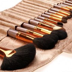 New Fashion 20-Piece Professional Makeup Brush Set Light Pouch Brushes Makeup Tool Set - Oh Yours Fashion - 11