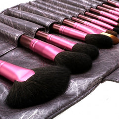 New Fashion 20-Piece Professional Makeup Brush Set Light Pouch Brushes Makeup Tool Set - Oh Yours Fashion - 15