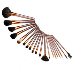 New Fashion 20-Piece Professional Makeup Brush Set Light Pouch Brushes Makeup Tool Set - Oh Yours Fashion - 18