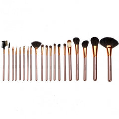 New Fashion 20-Piece Professional Makeup Brush Set Light Pouch Brushes Makeup Tool Set - Oh Yours Fashion - 21