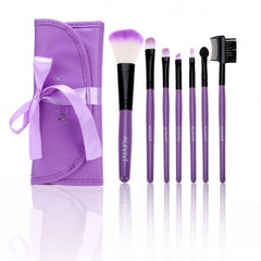 New Fashion Professional 7pcs Soft Cosmetic Tool Makeup Brush Set Kit With Pouch - Oh Yours Fashion - 4