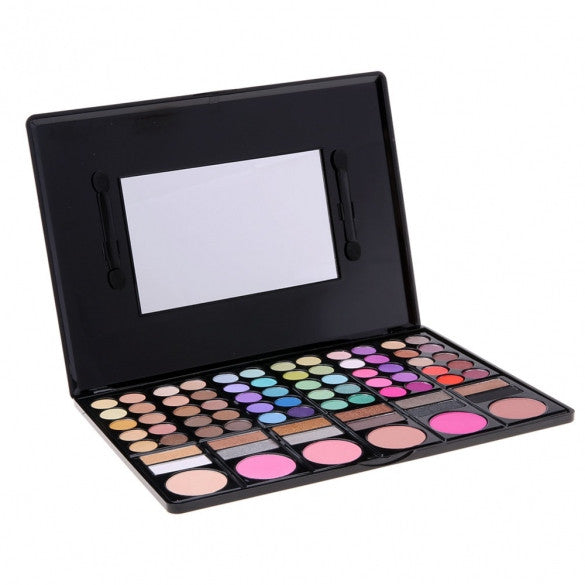 Women Cosmetics Professional 78 Colors Eyeshadow Makeup Palette Kit - Oh Yours Fashion - 1