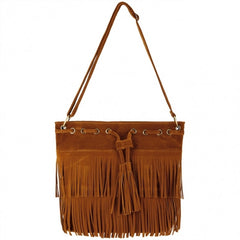 Zeagoo Fashion Women Lady Tassel Solid Casual Shoulder Cross Bag - Oh Yours Fashion - 1