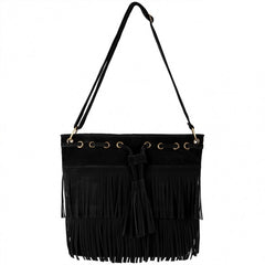 Zeagoo Fashion Women Lady Tassel Solid Casual Shoulder Cross Bag - Oh Yours Fashion - 2