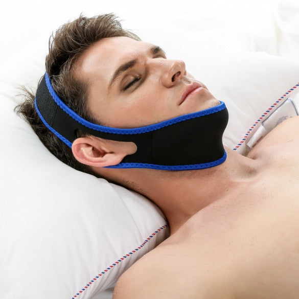 ACEVIVI Nylon Snore Stopping Chin Strap Soft Sleep Anti Snore Strap - Oh Yours Fashion - 1