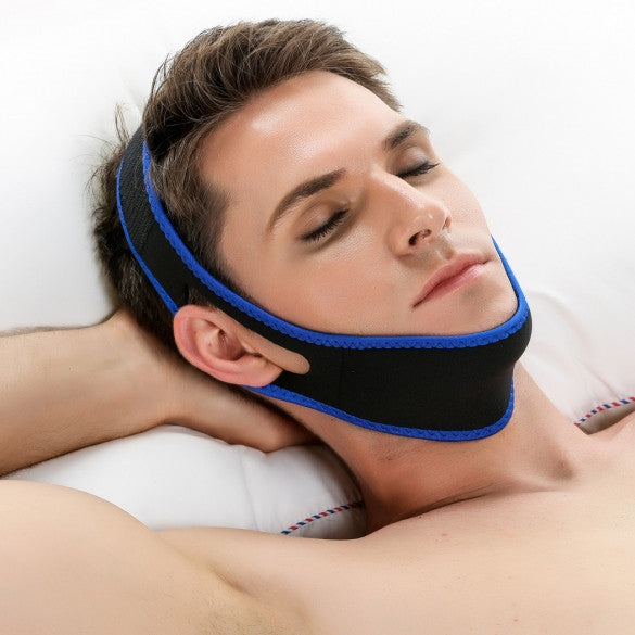 ACEVIVI Nylon Snore Stopping Chin Strap Soft Sleep Anti Snore Strap - Oh Yours Fashion - 7