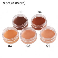 New Women's Natural Concealer Foundation Full Cover Cream Beauty Makeup - Oh Yours Fashion - 5