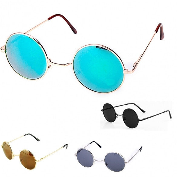New Retro Style Tortoise Frame Lens Round Sunglasses Eyeglasses Glasses - Oh Yours Fashion - 1