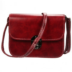 Women's Vintage Style Messenger Bag Flap Bag One Shoulder Bag - Oh Yours Fashion - 8