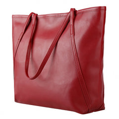 Fashion Ladies Women Synthetic Leather Bag Shoulder Bag Casual Handbag - Oh Yours Fashion - 7