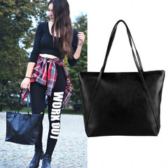 Fashion Ladies Women Synthetic Leather Bag Shoulder Bag Casual Handbag - Oh Yours Fashion - 2