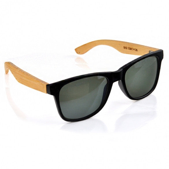 Handmade Bamboo Legs Eyewear Eyeglasses Rivet Sunglasses UV 400 - Oh Yours Fashion - 2