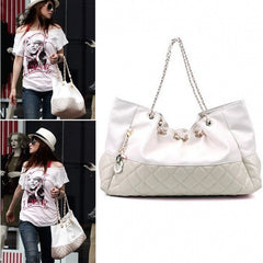 Girls' Oversized Bag Shoulder Handbag Chain Straps - Oh Yours Fashion - 6
