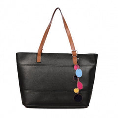 Women's Fashion Leather Cute Shoulder Bag Shopper Tote Bag Handbag - Oh Yours Fashion - 2