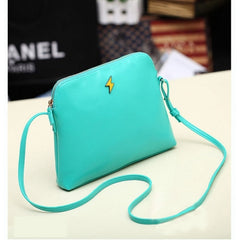 Hot Korean Women Candy Tote Handbag PU Leather Shoulder bag Cross Messenger - Oh Yours Fashion - 3