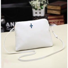 Hot Korean Women Candy Tote Handbag PU Leather Shoulder bag Cross Messenger - Oh Yours Fashion - 5