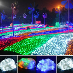 New 4M x 6M 880 LED Net Light Fairy Party Wedding festival Wedding Lights - Oh Yours Fashion - 3