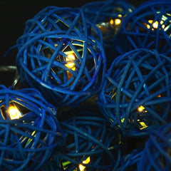 16 Ball Fairy String Lights Party Patio Holiday Wedding Bedroom Decor (Eu Plug) - Oh Yours Fashion - 2