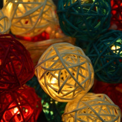 16 Ball Fairy String Lights Party Patio Holiday Wedding Bedroom Decor (Eu Plug) - Oh Yours Fashion - 4