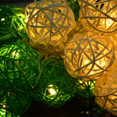 16 Ball Fairy String Lights Party Patio Holiday Wedding Bedroom Decor (Eu Plug) - Oh Yours Fashion - 3