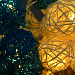 16 Ball Fairy String Lights Party Patio Holiday Wedding Bedroom Decor (Eu Plug) - Oh Yours Fashion - 5