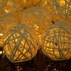 16 Ball Fairy String Lights Party Patio Holiday Wedding Bedroom Decor (Eu Plug) - Oh Yours Fashion - 7