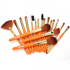 New Makeup 19pcs Brushes Set Powder Foundation Eyeshadow Eyeliner - Oh Yours Fashion - 2