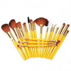 New Makeup 19pcs Brushes Set Powder Foundation Eyeshadow Eyeliner - Oh Yours Fashion - 5