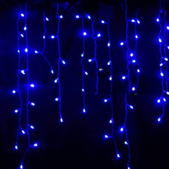 3.5m Droop 0.3-0.5m EU Plug Curtain Icicle String Lights 220V New Year Christmas LED Lights Garden Xmas Wedding Party - Oh Yours Fashion - 4