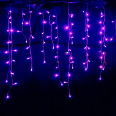 3.5m Droop 0.3-0.5m EU Plug Curtain Icicle String Lights 220V New Year Christmas LED Lights Garden Xmas Wedding Party - Oh Yours Fashion - 5