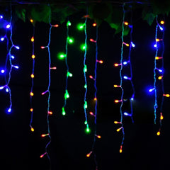 3.5m Droop 0.3-0.5m EU Plug Curtain Icicle String Lights 220V New Year Christmas LED Lights Garden Xmas Wedding Party - Oh Yours Fashion - 6