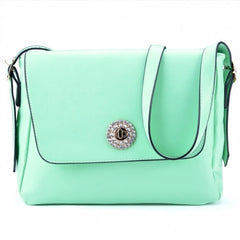 Korea Women's Sweet Style Candy Color Diamond Single Shoulder Bag Message Bag - Oh Yours Fashion - 2