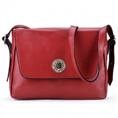 Korea Women's Sweet Style Candy Color Diamond Single Shoulder Bag Message Bag - Oh Yours Fashion - 7