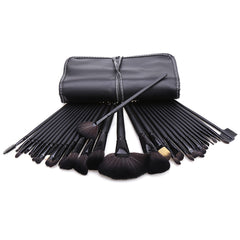 New 32 Makeup Brush Pro Eyebrow Brushes Professional??Cosmetic Eye Shadow Brush Set+ Kit Case Bag - Oh Yours Fashion - 2