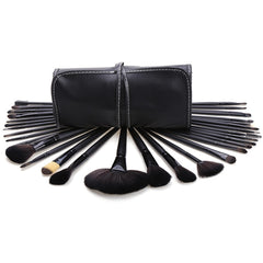 New 32 Makeup Brush Pro Eyebrow Brushes Professional??Cosmetic Eye Shadow Brush Set+ Kit Case Bag - Oh Yours Fashion - 3