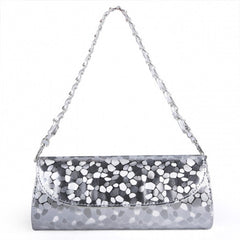 New Fashion Women Synthetic Leather Chain Bag Handbags Evening Bag - Oh Yours Fashion - 6
