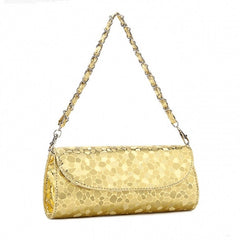 New Fashion Women Synthetic Leather Chain Bag Handbags Evening Bag - Oh Yours Fashion - 7