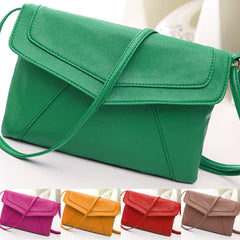 New Women Lady Envelope Clutch Shoulder Evening Handbag Tote Bag Purse 5 Colors - Oh Yours Fashion - 3