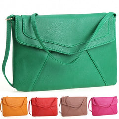 New Women Lady Envelope Clutch Shoulder Evening Handbag Tote Bag Purse 5 Colors - Oh Yours Fashion - 1