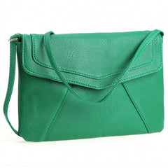 New Women Lady Envelope Clutch Shoulder Evening Handbag Tote Bag Purse 5 Colors - Oh Yours Fashion - 4
