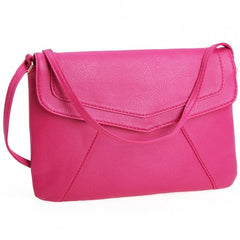 New Women Lady Envelope Clutch Shoulder Evening Handbag Tote Bag Purse 5 Colors - Oh Yours Fashion - 6