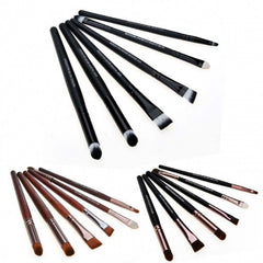 6 PCS Makeup Cosmetic Brushes Powder Eye Shadow Lipstick Liner Brush Set Kit - Oh Yours Fashion - 1
