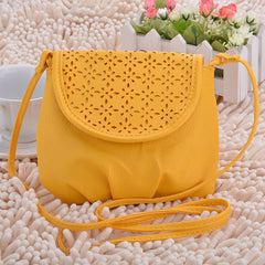 New Fashion Women's Girls Cute Mini Shoulder Bag Yellow Cross Bag - Oh Yours Fashion - 2