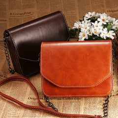 New Fashion Retro Style Women's Synthetic Leather Shoulder Bag Cross Bag Messenger Bags - Oh Yours Fashion - 1