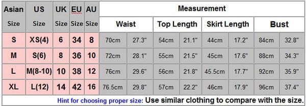 Mini Halter Chiffon Crop Top Short Skirt Two Piece Dress Suit - Meet Yours Fashion - 2
