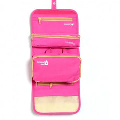 Fashion Women's Multifunction Travel Cosmetic Makeup Case Pouch Toiletry Organizer Foldable Bag Storage Box - Oh Yours Fashion - 5