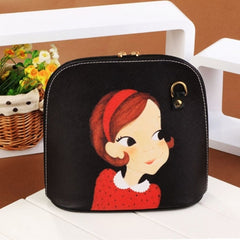 Hot Fashion Women Synthetic Leather Print Cross Bag Small Casual Party Messenger Bag Shoulder Bag - Oh Yours Fashion - 2